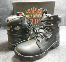 New Genuine Harley Andy Mens Lace Up Ankle Boots Shoes Size 13 D96066 #C136