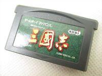 Game Boy Advance SANGOKUSHI Records of the Three Kingdoms Cartridge Only gbac