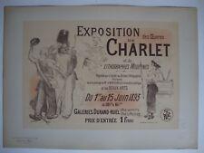 LES MAÎTRES DE L'AFFICHE,1900.Pl. n°194 WILLETTE Expo CHARLET