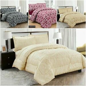 3 Piece pcs Heavy Jacquard Quilted Bedspread,Bed Throw Bed Blanket Comforter