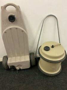 GENUINE Hitchman Aquaroll 40 Litre and Wastemaster 38L Roll Water Carrier Beige