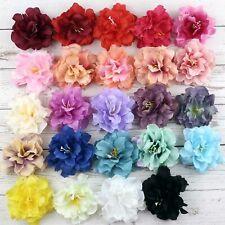 5/50 8cm Silk Artificial Peony Flower Heads DIY Fake Bouquet Wedding wall making