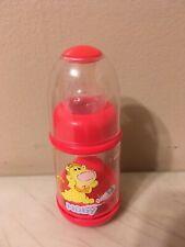 Vintage Nuby Infant Feeder Bottle Baby Cereal  Baby Food 2oz Stage  Red Lion