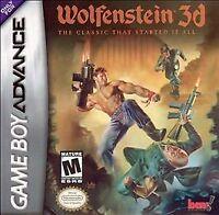 WOLFENSTEIN 3D GAME BOY ADVANCE GBA COSMETIC WEAR