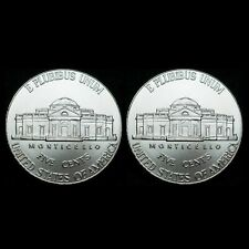 2013 P & D Jefferson Nickels - BU (two coins)