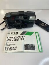 Fuji Discovery 900 Zoom Plus Date Point & Shoot 35mm Film Camera 38-85mm Tested