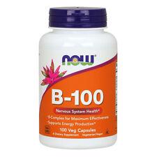 NOW FOODS Vitamin B-100 100 caps - Vitamine del gruppo B