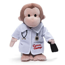 "GUND -  12"" CURIOUS GEORGE  - DOCTOR - #4048375"