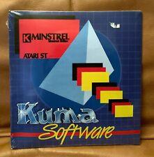 *NEW/SEALED* ATARI ST Kuma Software K-MINSTREL GEM COMPUTER K-Graph Word STe VTG