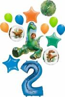 The Good Dinosaur Party Supplies Arlo and Spots 2nd Birthday 14 pc Balloon Bo...