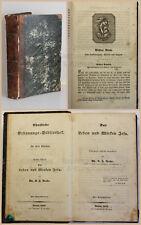 Reiche Das Leben und Wirken Jesu 1842 Religion Christentum Jesus Christus xz