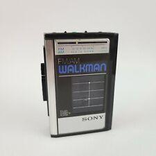 Sony Walkman WM-F41 Vintage 1987 Stereo Cassette Player & AM/FM Radio Tested