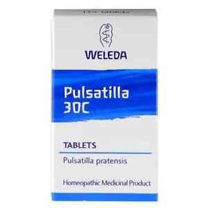Weleda Pulsatilla 30c 125 Tablets NEW FREE P&P
