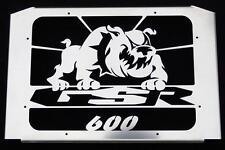 "Kühlerverkleidung / Kühlerabdeckung Suzuki 600 GSR design ""Bulldog"""