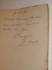 Giurisprudenza, Auriti: Ricerca Paternità Naturale 1894 Lanciano dedica autore