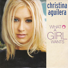 CD CARTONNE CARDSLEEVE 2T CHRISTINA AGUILERA WHAT A GIRL WANT 1999