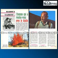 Article Presse Le Vulcanologue HAROUN TAZIEFF 1966 #106