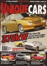 Unique Cars Jul 02 HSV Cooper S M3 Arrow Ford Coupe Crossfire 911 4s 944 Turbo