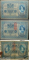 Austria-Hungary early bank note 1902