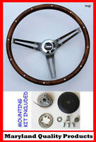 New! 1967 Camaro Grant Wood Steering Wheel Walnut 15""