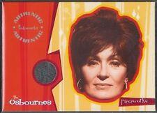 The Osbournes Trading Cards Pieceworks PW2 Sharon Shirt