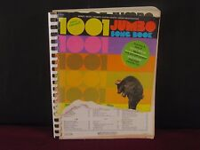 1001 New Revised Jumbo Songbook 512 Pages Used Good Shape