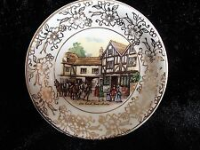 Vintage Mayell decorative plate THE OLD COACH HOUSE BRISTOL Rare