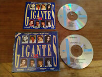 Giganten 2 CAMARON DE LA ISLA julio iglesias ANA BELEN - 2 X CD Box Grob
