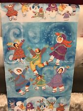 100/% Cotton 60cm Fabric Panel Bessie Pease Gutmann Fabric Panel