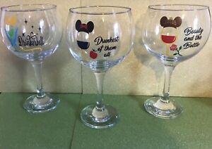 Disney Inspired Gin/Wine Glass