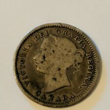1870 Canadian 10 Cent Dime. CANADA.  Great Condition