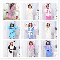 New Luxury Lady Women Bath Robe Super Soft Coral Fleece Bathrobe Nightwear