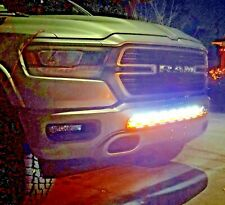 "2019 2020 RAM 1500 M&R DUAL 40"" LED LIGHT KIT KIT - 2 light bars (AMBER/WHITE)"
