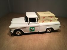 7UP 1955 CHEVY DIECAST PICKUP TRUCK COIN BANK BY ERTL