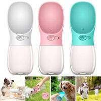 350 / 550 ML Dog Water Bottle Bowl Pet Cup Drinking Travel Outdoor Portable Feed
