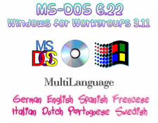 MS-DOS 6.22 + Windows for WG 3.11 + Tools (Version CD-ROM) | MultiLanguage