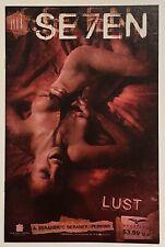 Se7en #4 Lust Zenescope Comic Book, Vf, Rare, Htf, 2007, Seven
