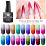 MEET ACROSS Thermal Gel Nail Polish Soak off Color-changing UV LED Gel Manicure