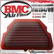 Fm194/09 filtro de aire Deportivo BMC Honda CBR 600 F4 1999 2000