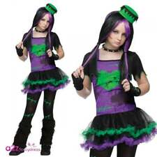 Funkie Frankie Teen Frankenstein Fancy Dress Costume Halloween Gothic Punk