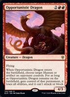 MTG x4 Opportunistic Dragon Throne of Eldraine RARE NM/M