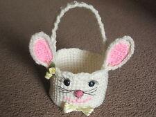*Easter Bunny Basket crochet PATTERN INSTRUCTIONS