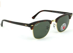 Ray-Ban Original CLUBMASTER CLASSIC Sunglasses RB3016 Tortoiseshell Frame
