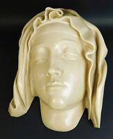 Vtg 1982 MMA Metropolitan Museum of Art HEAD OF THE VIRGIN Marble from Italy