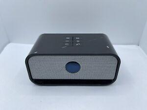 Brookstone Big Blue Audio Wireless Bluetooth Speaker - Black (No Charger)