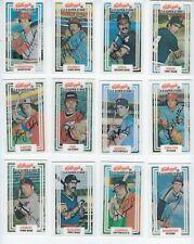 1983 Kellogg's Baseball Cards complete set of 60 3-D Super Stars