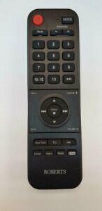 GENUINE Roberts DAB Radio Stream 67 Replacement Remote Control - Brand NEW UK