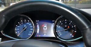 Maserati Quattroporte GTS speedometer dial 230 MPH