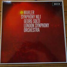 SXL 6113 Mahler Symphony No. 1 / Solti / CSO 180 gram