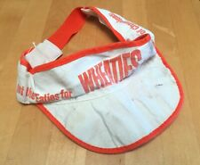 Vintage Kellogg's Cereal WHEATIES Promotional Hat Cap Visor Promo Marketing 80s